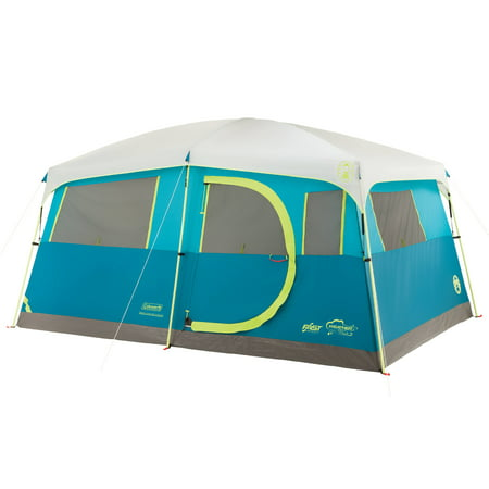 Coleman Tenaya Lake Fast Pitch 8-Person Cabin Tent with (Coleman Montana 6 Tent)