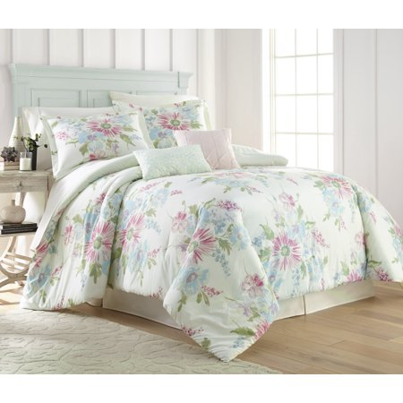 Bold Floral 5PC Comforter Set - Queen