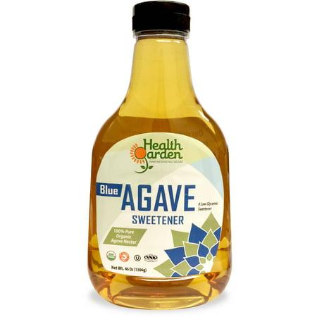 (Health Garden Organic Blue Agave Nectar Sweetener, 46 Oz)