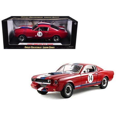 1965 Ford Mustang Specs - 1965 Ford Shelby Mustang GT350R Red #14 1/18 Diecast Car Model by Shelby Collectibles