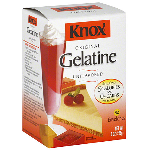 Knox Original Unflavored Gelatine, 8 oz, (Pack of 12)
