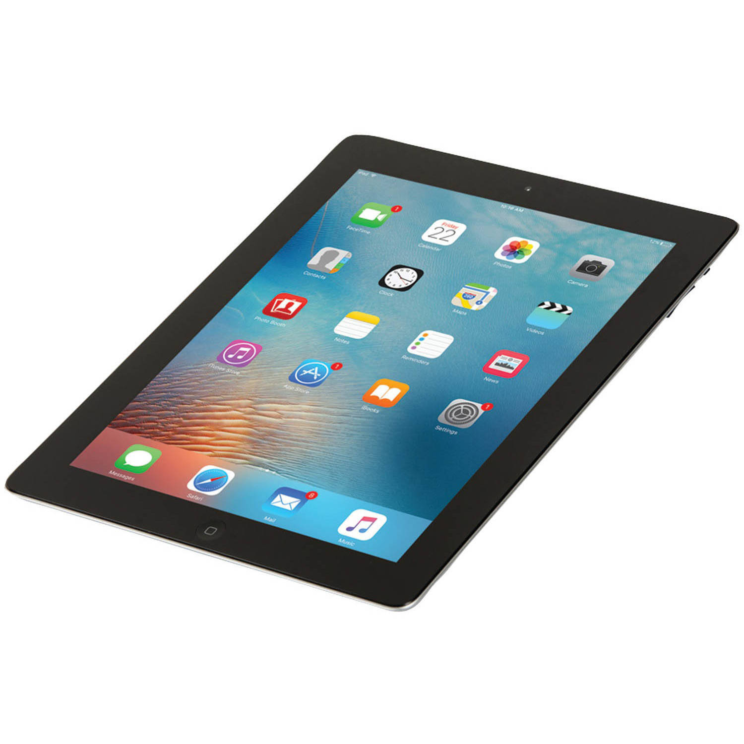 "Refurbished Apple iPad 2 MC769LL/A with WiFi 9.7"" Touchscreen Tablet Featuring Apple iOS 8 Operating System"