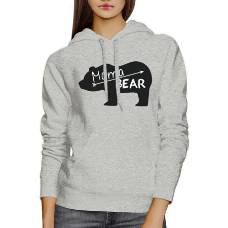 Mama Bear Unisex Gray Cute Hoodie Unique Gift Ideas For New - Mother Day Craft Ideas