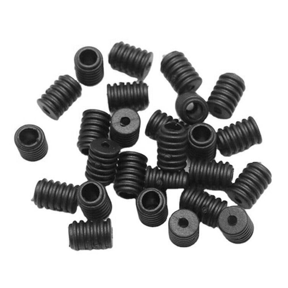 200pcs Round Adjustment Buckle Adjustable Stops elastic For DIY Face Cover