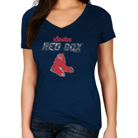 MLB Boston Red Sox Plus Size Women's Basic Tee