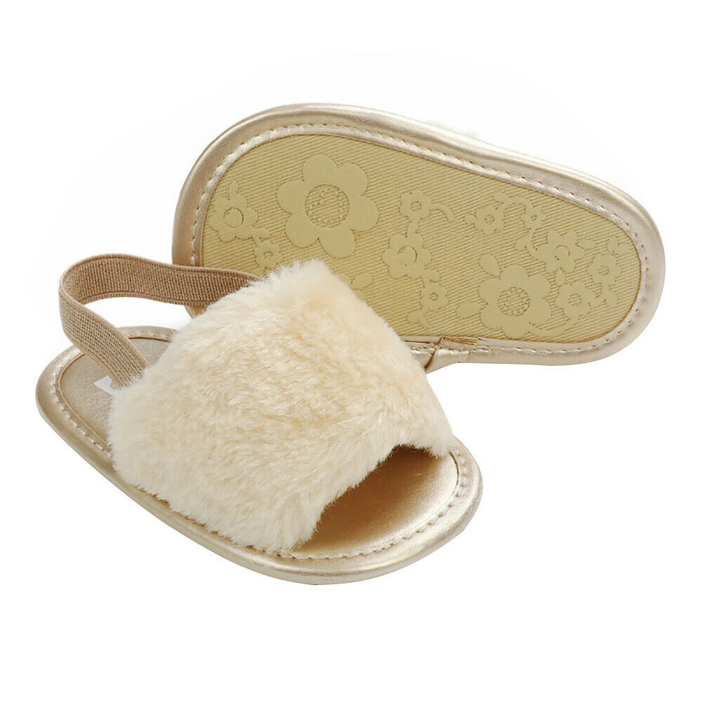 Summer Soft Sole Hairy Sandals Shoes