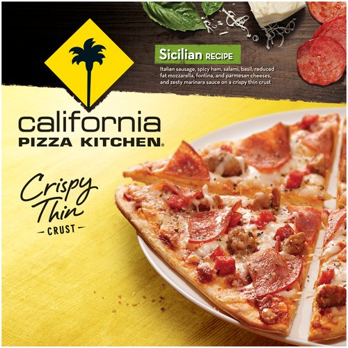 California Pizza Kitchen Crispy Thin Crust Sicilian Recipe Pizza, 5.7 oz