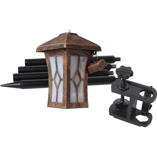 Bordeaux 3-in-1 Metal Torch Set, Burnt Copper, 2-Piece by BOND MANUFACTURING COMPANY