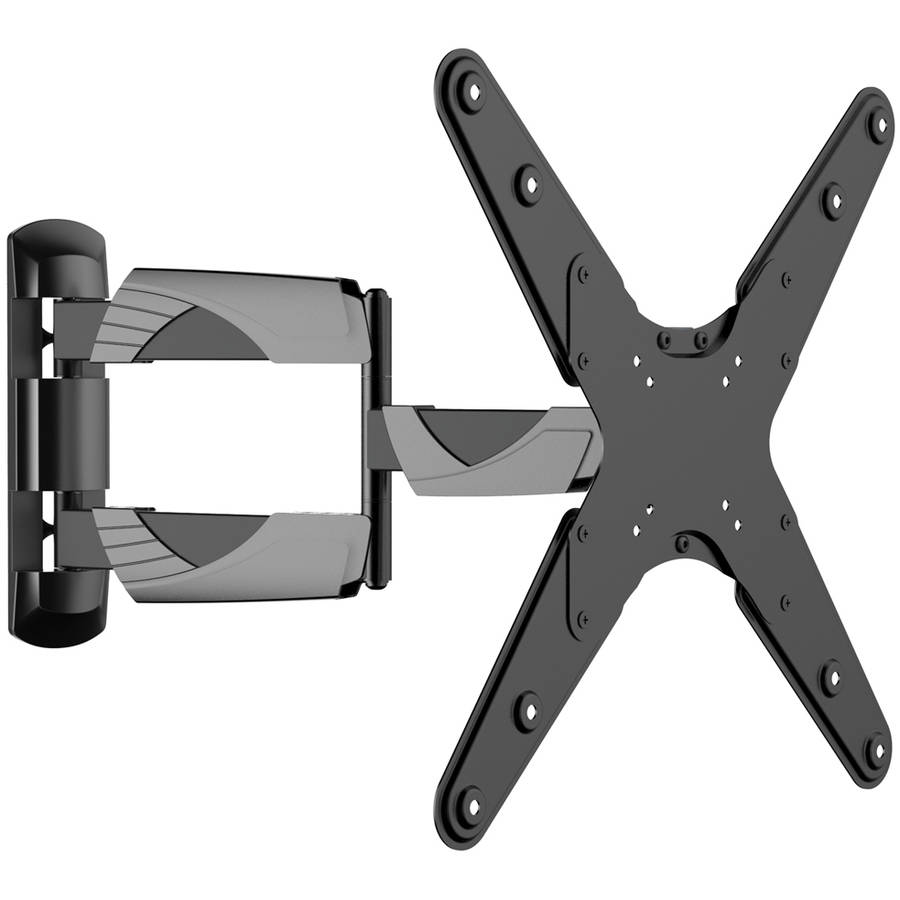 "Inland Products ProHT 05425 Full Motion Curved and Flat Panel TV Mount for 37""-70"" TVs, Black"