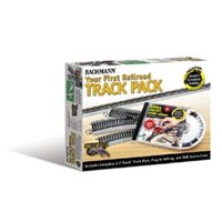 Bachmann Trains HO Scale Nickel Silver World's Greatest Hobby First Railroad Track Pack