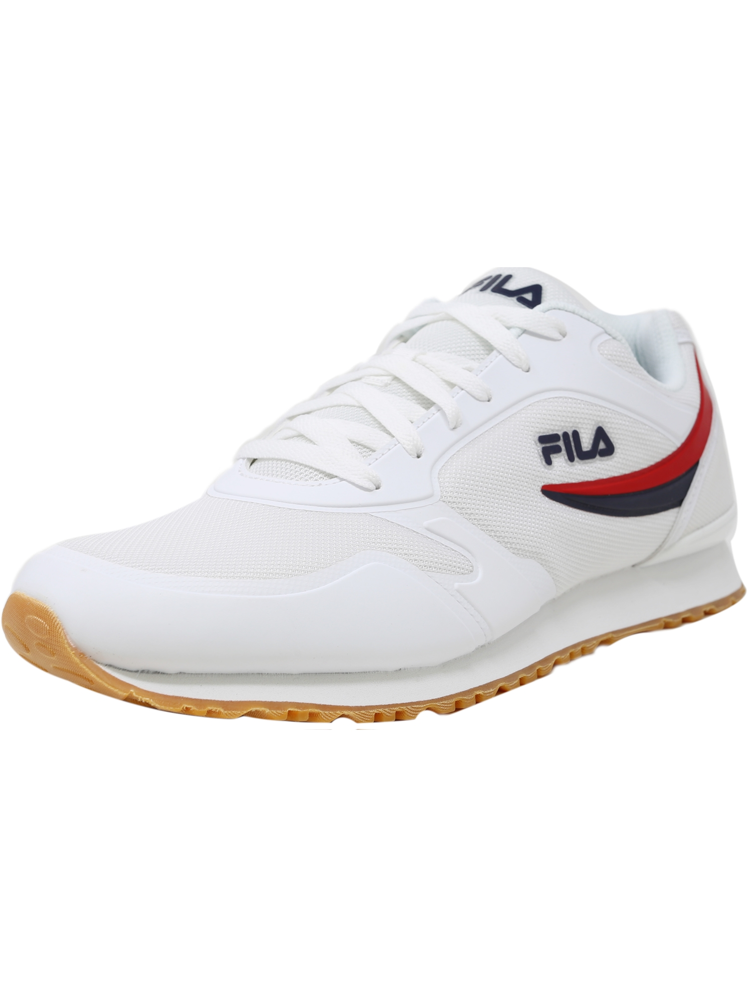 Fila Fila Forerunner 18 Fashion Sneaker 12M White Fila Navy Fila Red