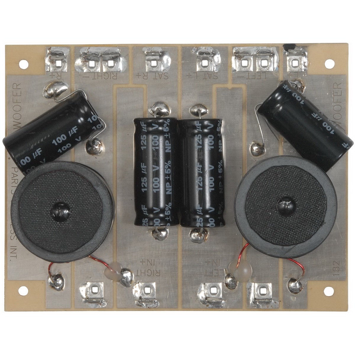 Subwoofer Crossover 4 Ohm 130 Hz 200W