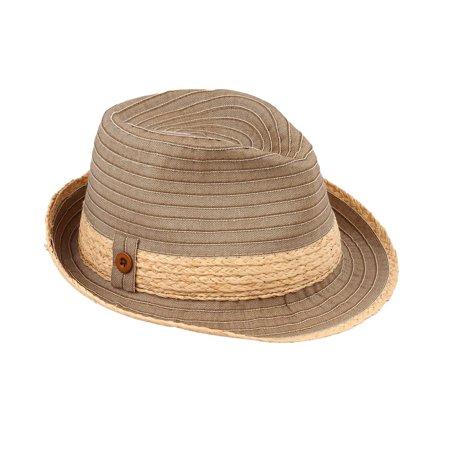 82d2f2b81f6 Sun Styles Foldable Crushable Havana Ladies Packable Trilby Fedora Hat -  Black   Walmart Canada