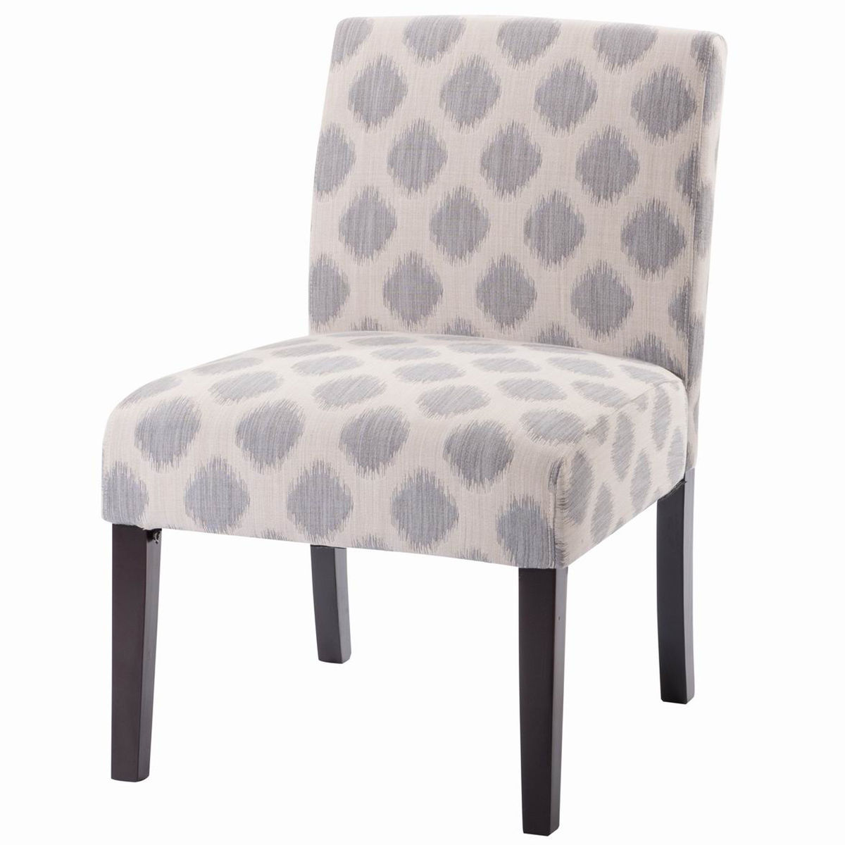 Walmart Chairs: Gymax Wood Linen Fabric Upholstered Armless Dining Chair