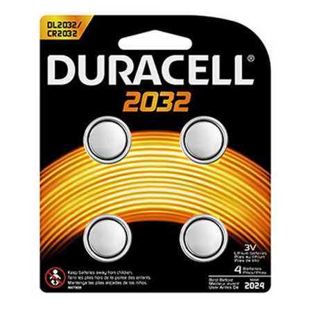 Procter   Gamble Durdl2032b4pk Duracell Lithium 3V Medical Battery
