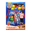 Paw Patrol Inflatable Playland Ballpit With 100 Soft Flex Balls