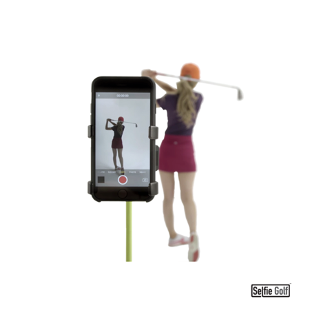 Record Golf Swing   Cell Phone Clip Holder And Training Aid By Selfiegolf Tm   Golf Accessories   The Winner Of The Pga Best New Product Of 2017   Compatible With Any Smart Phone  Quick Set Up