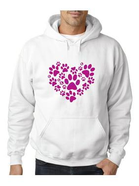 b641e5e81 Product Image 730 - Hoodie Heart Paws Pets Cat Dog Sweatshirt