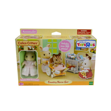 Calico Critters Country Nurse Set (Calico Critters Storage)