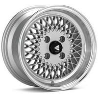 Enkei92 Classic Line 15x7 4x100 38mm Silver Wheel - 465-570-4938SP
