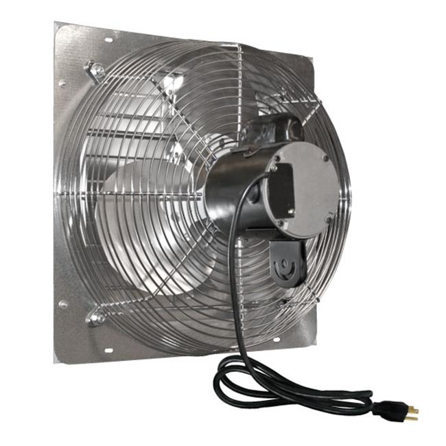 J and D VES12C 12 inch Shutter Exhaust Fan With Cord