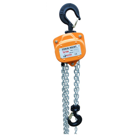 Bison 1/2 Ton Manual Chain Hoist 10' Lift 10 Standard Lift Manual Chain
