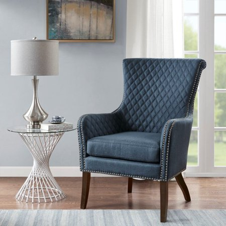Accent Chair Color Dark Blue Size See Below Walmart Com