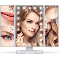 ($70 Value) Beautimate LED Makeup Vanity Mirror with 1X, 2X, 3X, & 10X Magnification