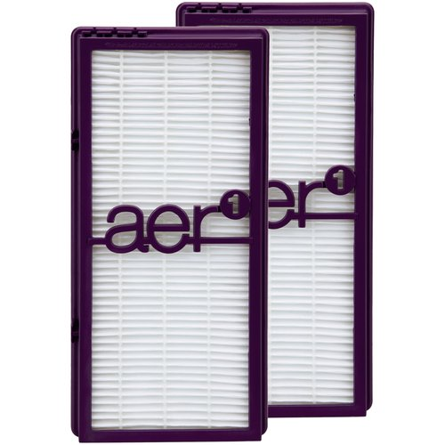Homes Aer1 True HEPA Air Filter, 2pk