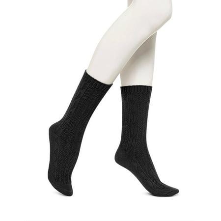 f74cf256f No nonsense - Women s Cable Boot Sock - Walmart.com