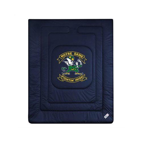 Bundle-98 Sports Coverage University of Notre Dame Fighting Irish Bedding Series (3 Pieces)