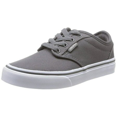 Grey Vans - Vans Unisex Little Kid's/ Big Kid's Shoes Atwood Pewter Gray Sneakers
