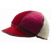 icebox xob 858-11 soft visor winter hat - brights, medium-large