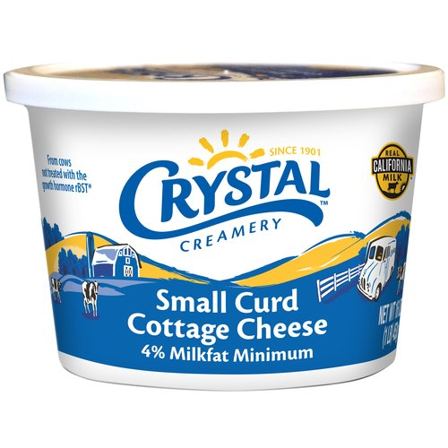 Crystal Creamery Small Curd Cottage Cheese, 16 oz