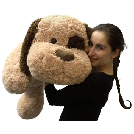 Giant Stuffed Dog 36 Inches Big Plush Soft Brown Oversized Stuffed Animal -  Walmart.com a686230c3487