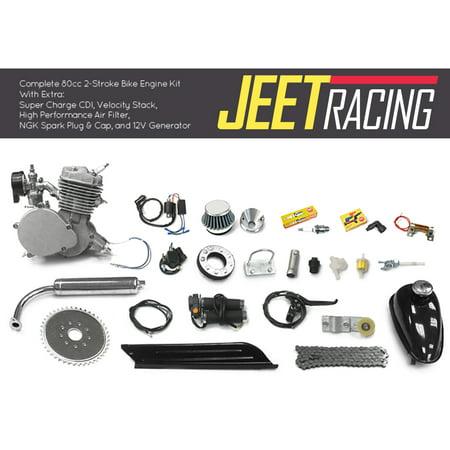 Jeet Racing 80cc Bicycle 2 Stroke Engine Kit ()
