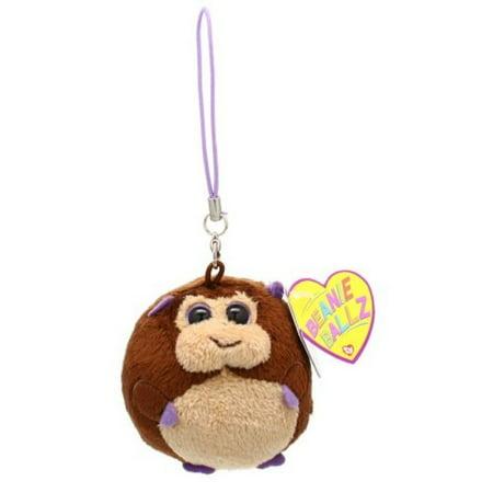 Ty Beanie Ballz - Bananas-Clip the Monkey