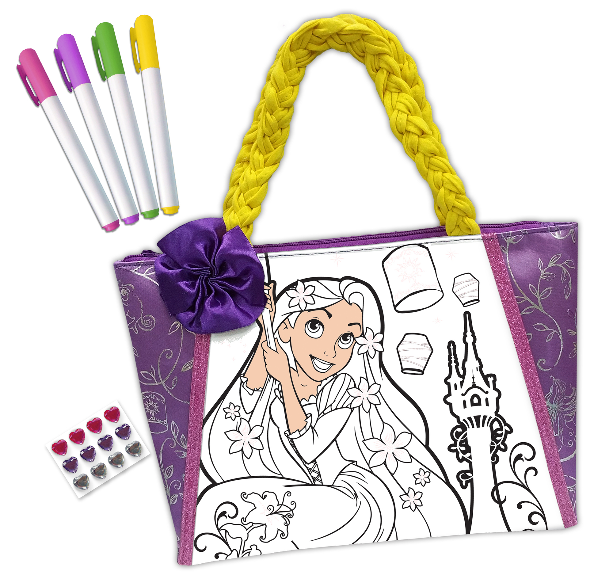 Disney Princess Rapunzel Color N Style Purse by Tara Toy