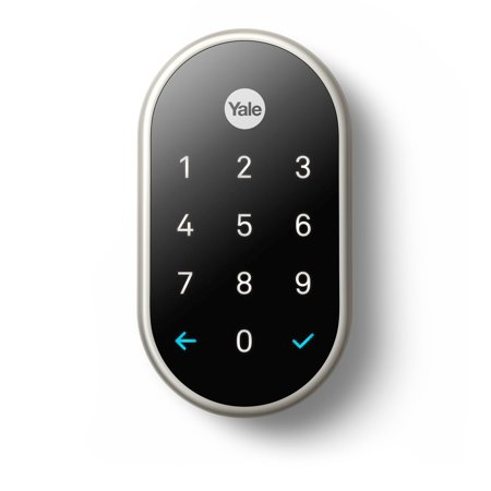 Google Nest x Yale Lock (Satin Nickel) with Nest Connect