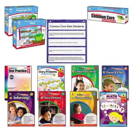 Carson Dellosa Publishing Common Core Kit  Math Language  Grade 2