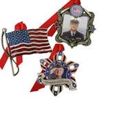 Gloria Duchin 3pc Patriotic Ornament Set