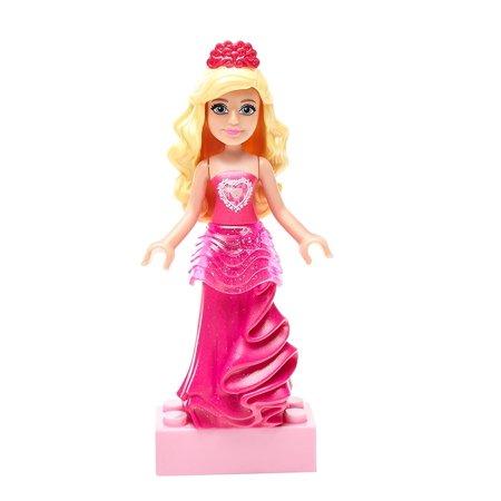 Mega Construx Barbie Sparkle Kingdom Gem Princess Mini Figure Playset, Welcome To Barbie Dreamtopia, where everyone wishes for adventure with the Mega Blokes Barbie.., By Mega Bloks Ship from US (Mini Barbie)