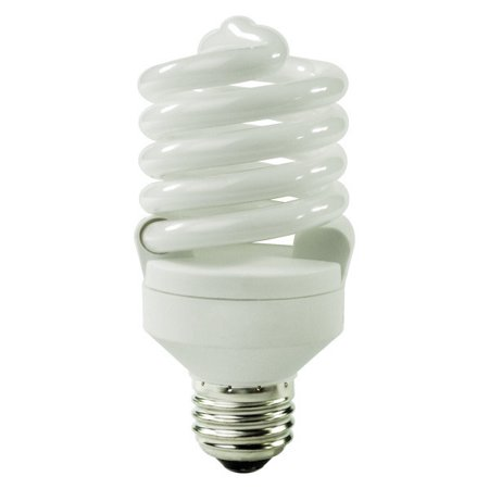 spiral compact fluorescent light bulb 27 watt. Black Bedroom Furniture Sets. Home Design Ideas