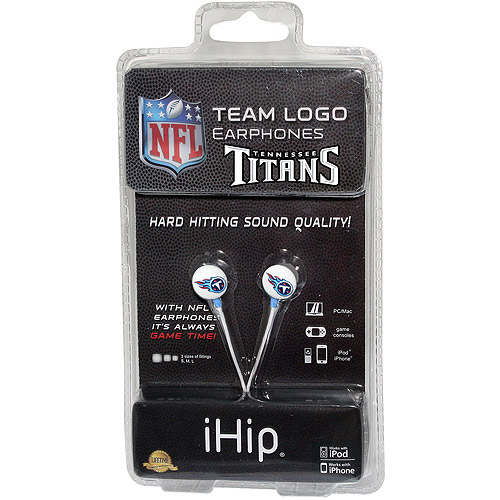iHip NFL Mini Earbuds, Tennessee Titans