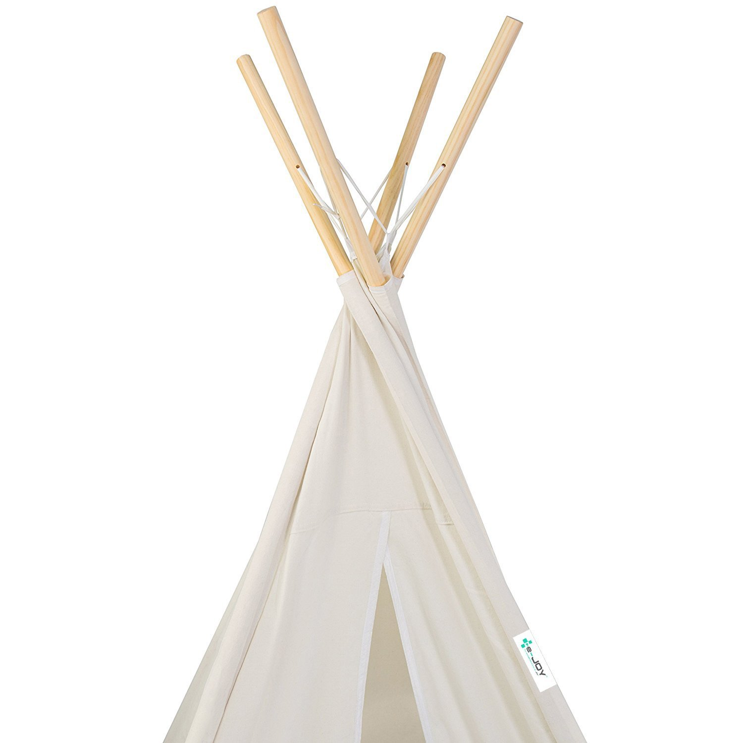 e-Joy 6' Indoor Indian Playhouse Toy Teepee Play Tent for Kids Toddlers