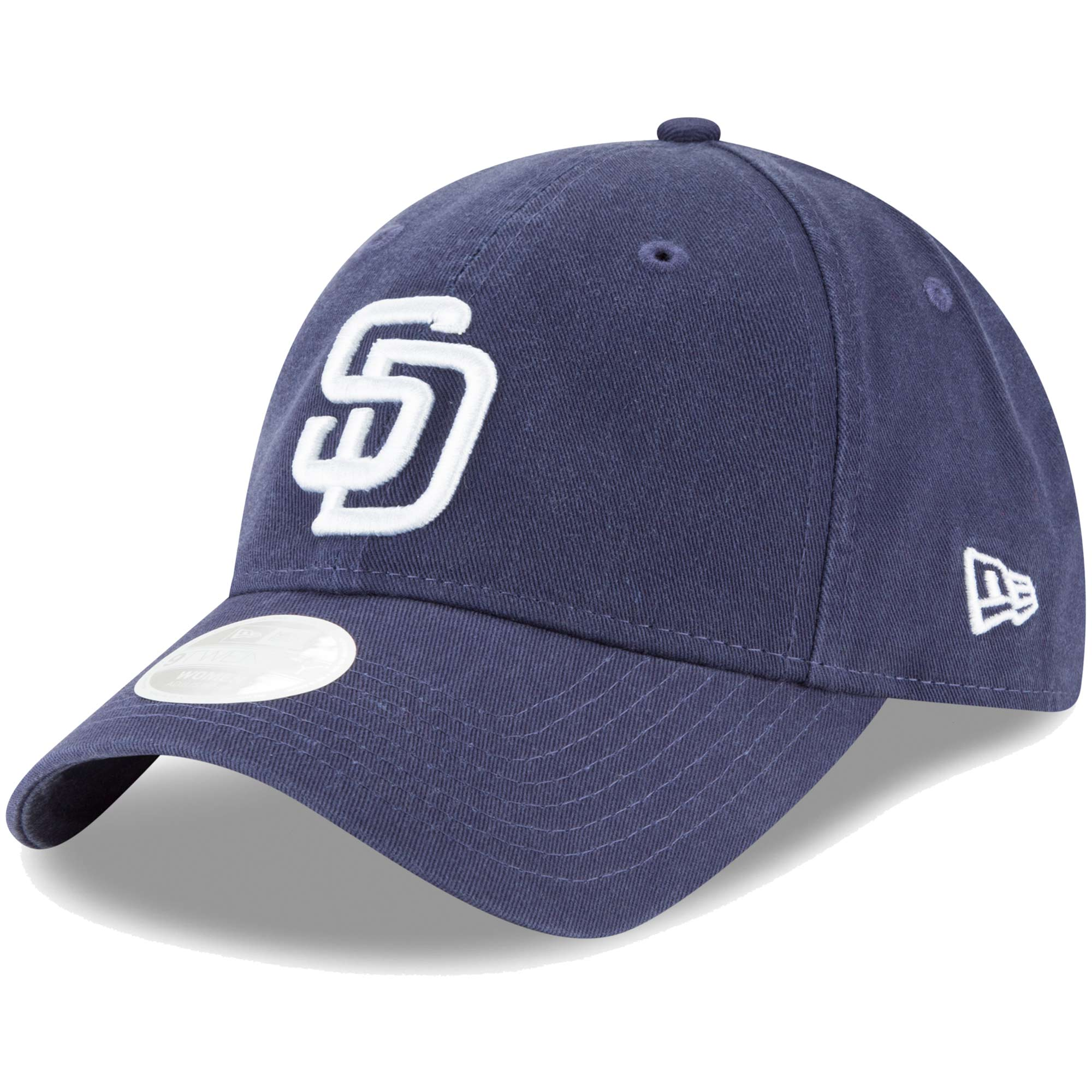 San Diego Padres New Era Women's Core Classic Twill Team Color 9TWENTY Adjustable Hat - Navy - OSFA