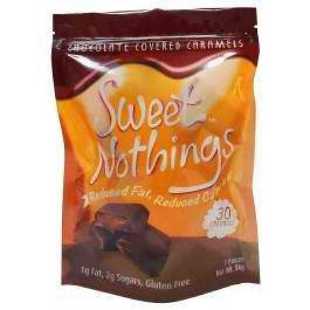 Faceplate Cover Candy - HealthSmart Sweet Nothings Chocolate Candies - Chocolate Covered Caramel