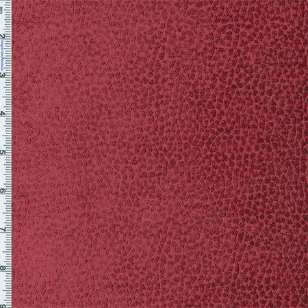 Rouge Berry Red Komodo Reptile Faux Velvet Home Decorating Fabric, Fabric By the Yard
