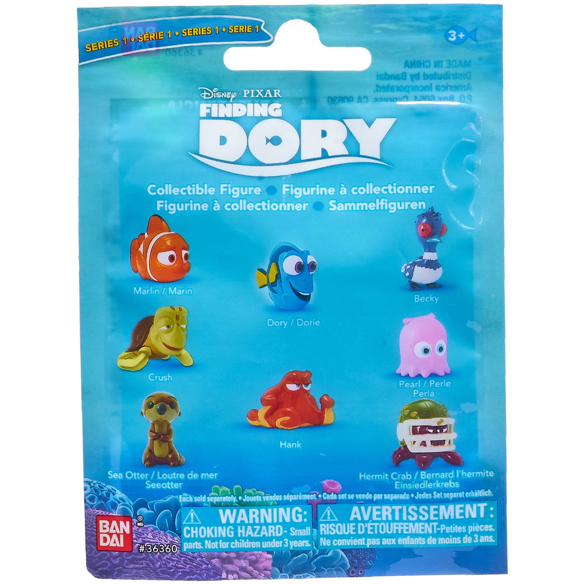 Finding Dory Collectible Blind Bag Number 1