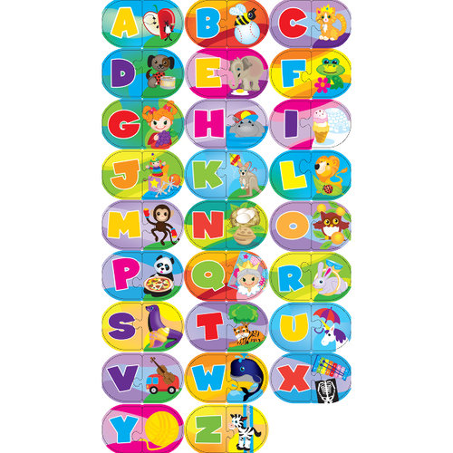 Masterpieces 1465427 Mini Learning Games 40 Pieces-Alphabet